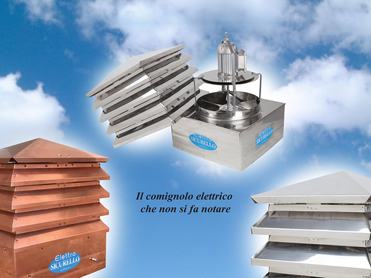 Electric Chimney Tops - Perfetto.it